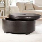 Leather Ottomans Coffee Tables