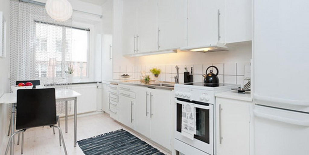 Modern kitchen design for apartment
