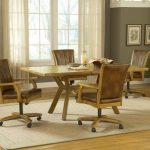 Oak Kitchen Chairs With Casters