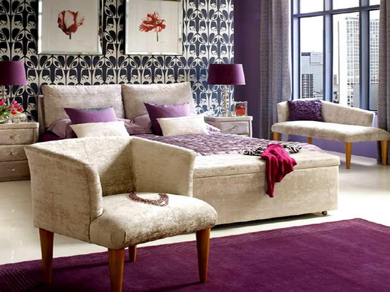18 Purple Home Decor Ideas