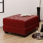 red-leather-ottoman-coffee-table