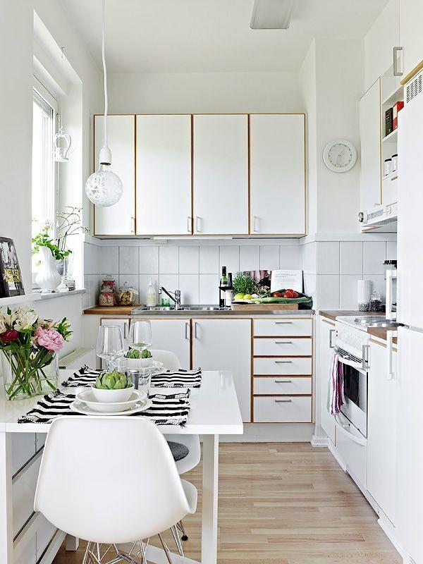 Small apartment kitchen design photos