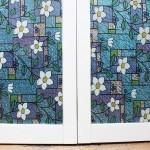 Bloss White Flower Decorative Window Film
