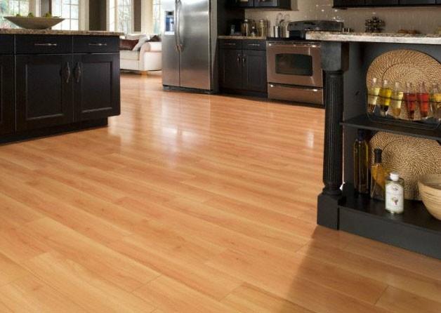 Beech laminate flooring for kitchens