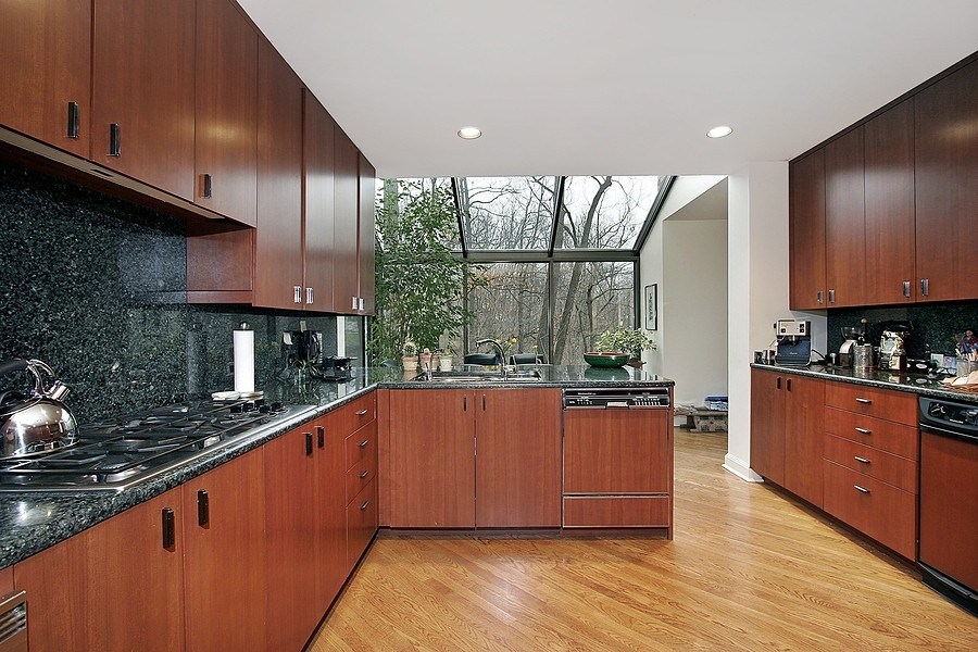Laminate flooring for kitchen granite