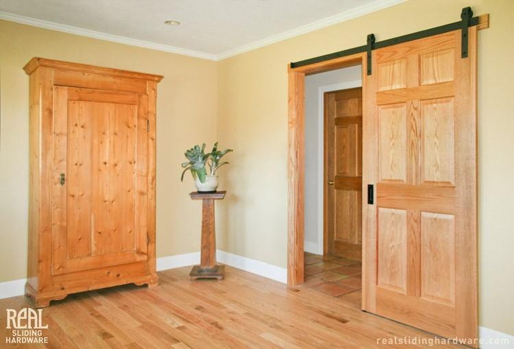 Sliding barn doors for inside house