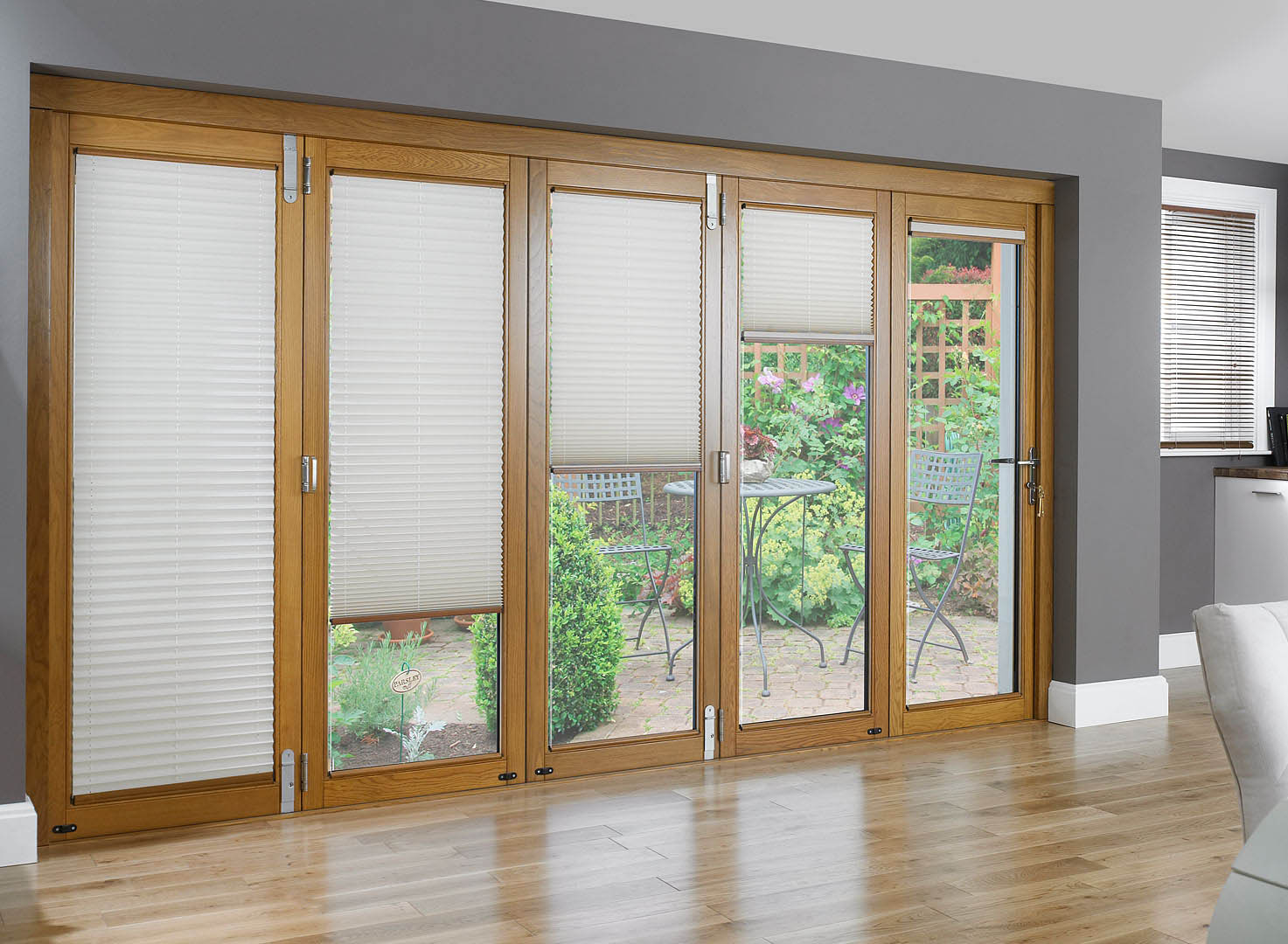 Sliding glass doors coverings