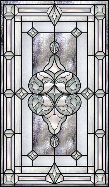 Stained glass decals