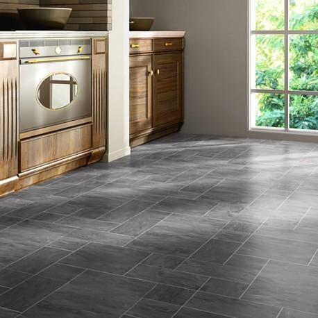 Stone effect laminate flooring for kitchens