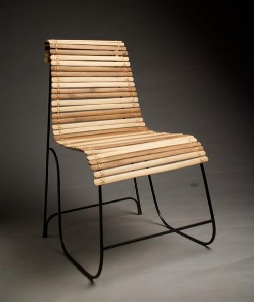 Bamboo adirondack chairs