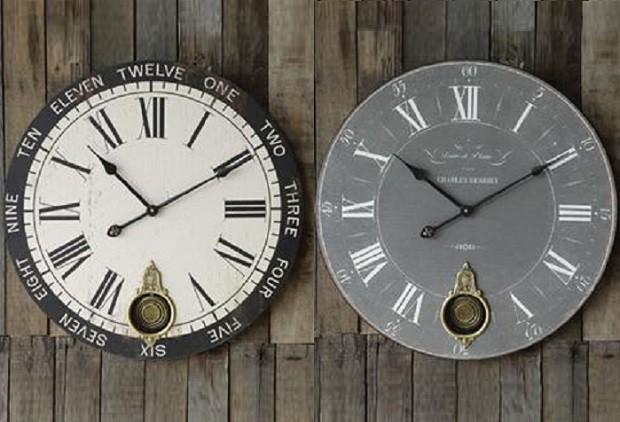 Decorative wall clocks walmart