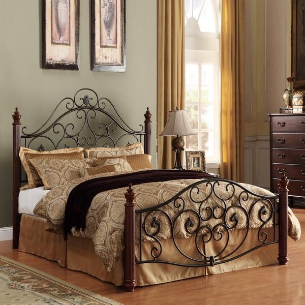 Metal bed frame adjustable