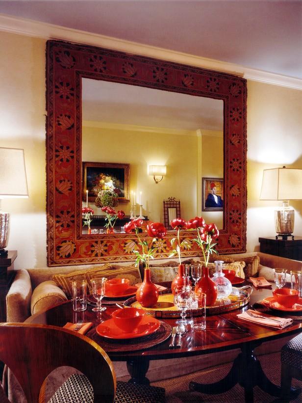 Romantic dining rooms