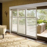 Sliding Door With Blinds Between Glass