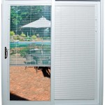 Sliding Door With Blinds Inside