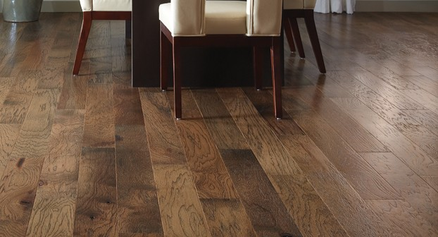 Hickory wood floors cupping