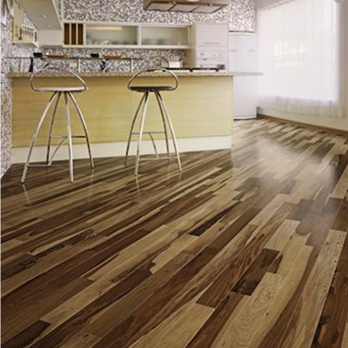 Hickory wood floors dogs