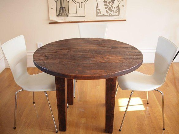 The Zero Effort Approach To Round Wood Dining Tables