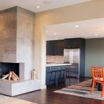 Corner Fireplace Design Living Room Kitchen Ideas