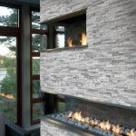 Gas Corner Fireplace Design Ideas