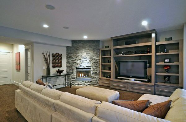 Living Room Ideas Corner Fireplace Design