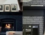 Painted Fireplace Ideas 290×118