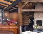 Top Best Stone Fireplace Design Ideas 290×118