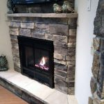 Vintage Stone Corner Fireplace Design Ideas