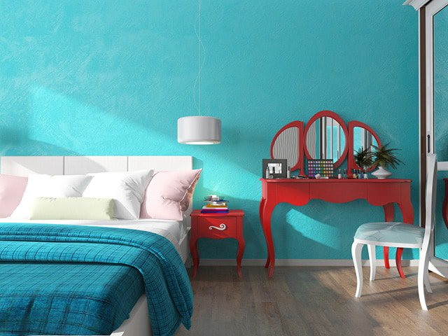 And Choose A Turquoise Paint Color You Like Among
