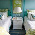 Bedroom Yellow Turquoise